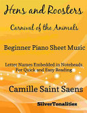 Hens and Roosters Carnival of the Animals Beginner Piano Sheet Music [Pdf/ePub] eBook