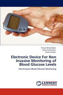 Electronic Device for Non Invasive Monitoring of Blood Glucose Levels
