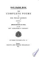 The Complete Poems of Sir Philip Sidney