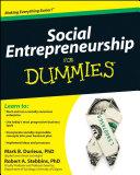 Social Entrepreneurship For Dummies