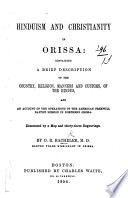 Hinduism and Christianity in Orissa
