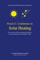 First E C  Conference on Solar Heating