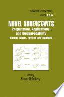 Novel Surfactants