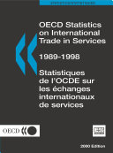 OECD Statistics on International Trade in Services 2000