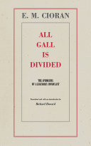All Gall Is Divided