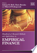 Handbook of Research Methods and Applications in Empirical Finance Book