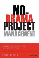 No Drama Project Management Book