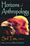 Horizons of Anthropology