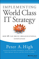 Pdf Implementing World Class IT Strategy Telecharger