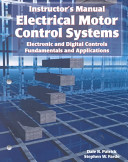 Electrical Motor Control Systems Book PDF