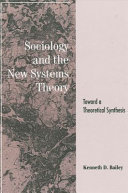Sociology and the New Systems Theory