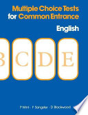 Multiple Choice Tests for Common Entrance   English Book
