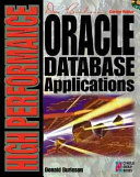 High performance Oracle Database Applications