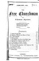 The Free Churchman and Christian Spectator