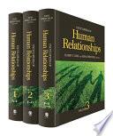 """Encyclopedia of Human Relationships: Vol. 1-"" by Harry T. Reis, Susan Sprecher"