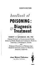 Handbook of poisoning  diagnosis   treatment Book