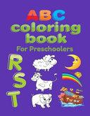 ABC Coloring Book For Preschoolers Book PDF