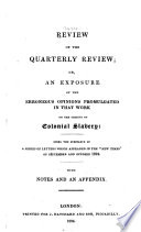 Review Of The Quarterly Review