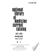 National Library of Medicine Current Catalog