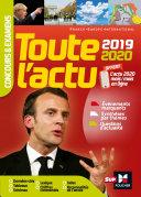 Pdf Toute l'actu 2019 - Concours & examens - Sujets et chiffres clefs de l'actualité 2020 Telecharger