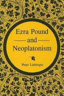 Ezra Pound and Neoplatonism Pdf/ePub eBook