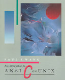 An Introduction to ANSI C on UNIX