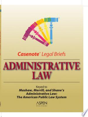 [pdf - epub] Administrative Law - Read eBooks Online
