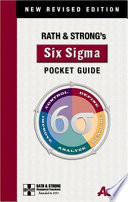 Rath Strong S Six Sigma Pocket Guide PDF