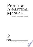 Pesticide Analytical Manual