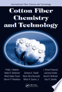 Cotton Fiber Chemistry And Technology Book PDF