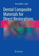 Dental Composite Materials for Direct Restorations