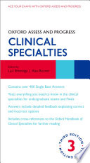 Cover of Oxford Assess and Progress: Clinical Specialties