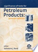 The Significance of Tests of Petroleum Products