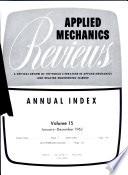 Applied Mechanics Reviews Book PDF