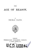 The Age of Reason Book
