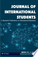 Journal Of International Students 2019 Vol 9 Issue 1