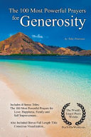 The 100 Most Powerful Prayers For Generosity Book PDF