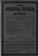 The American Journal of Nursing Book