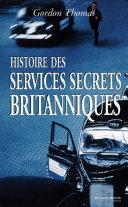 Pdf Histoire des services secrets britanniques Telecharger