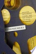 Cinephemera Book