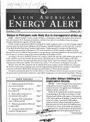 Latin American Energy Alert Book PDF