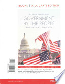Government by the People, 2014 Elections and Updates Edition, Books a la Carte