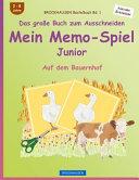 Brockhausen Bastelbuch Bd. 1 - Das Grosse Buch Zum Ausschneiden - Mein Memo-Spiel Junior