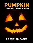 Pumpkin Carving Templates 50 Stencil Pages