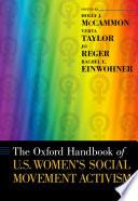 The Oxford Handbook Of U S Women S Social Movement Activism