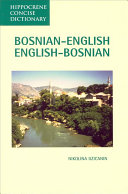 Bosnian-English, English-Bosnian Dictionary