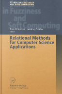 Relational Methods for Computer Science Applications