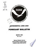 Experimental Long-lead Forecast Bulletin