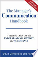The Manager S Communication Handbook Book PDF