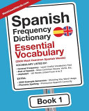 Spanish Frequency Dictionary   Essential Vocabulary